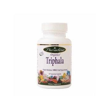 Paradise Herbs Organics Triphala Truly Holistic 100:1, Veggie Caps 60 ea