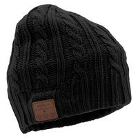 Tenergy Bluetooth Beanie w/ Cable Knit (2 colors available) - Black