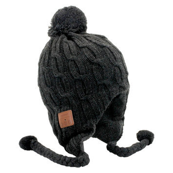 Tenergy Bluetooth Beanie Basic Knit w/ Tassles (2 colors available)