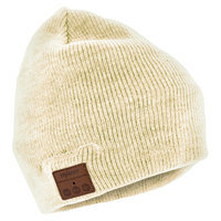 Tenergy Bluetooth Beanie w/ Basic Knit (5 colors available) - Cream