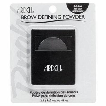 Ardell Brow Defining Powder Soft Blac, .08 OZ.