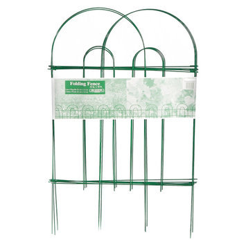 Glamos Wire Products 770089 32X10 Folding Wire Fence - Green