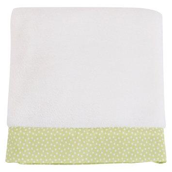 Balboa Baby Lavender Poppy Simply Soft Blanket - Honeydew/White