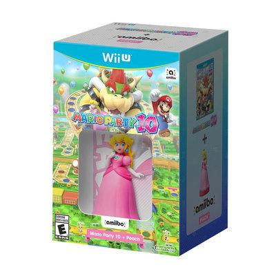 Mario Party 10 + Peach Nintendo Wii U [WIIU]