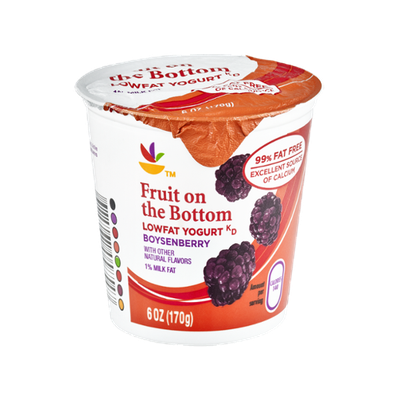 Ahold Fruit on the Bottom Boysenberry Lowfat Yogurt