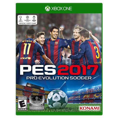 Konami Digital Entertainment Pro Evo Soccer 2017 XBox One [XB1]