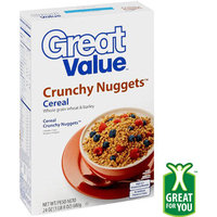 Great Value: Crunchy Nugget Cereal, 24 oz