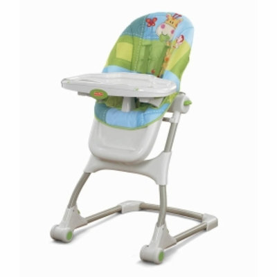 Fisher-Price Discover N' Grow EZ Clean High Chair, Blue, 1 ea