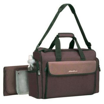 Eddie Bauer Organizer Diaper Bag - Brown