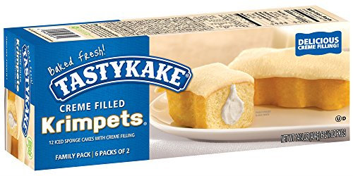 Tastykake® Creme Filled Butterscotch Krimpets® Reviews 2019