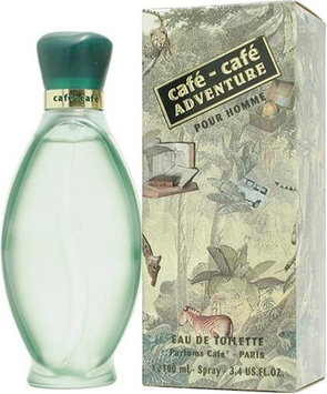 Cafe Cafe Adventure Pour Homme by Cofinluxe 100ml 3.4oz EDT Spray