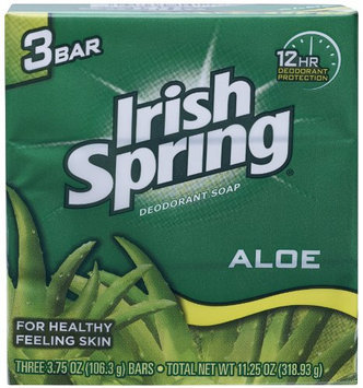 Aloe Deodorant Soap By Irish Spring for Unisex