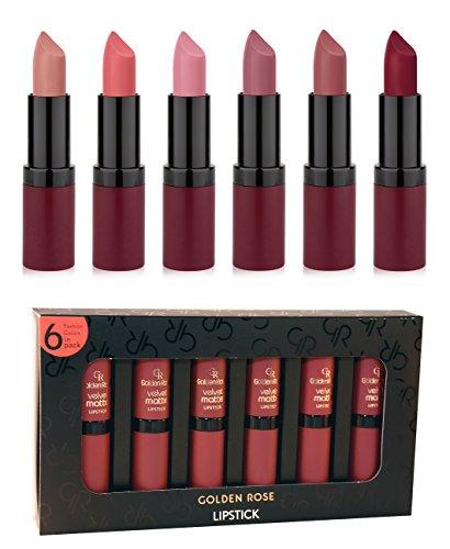 Golden Rose Matte Lipstick
