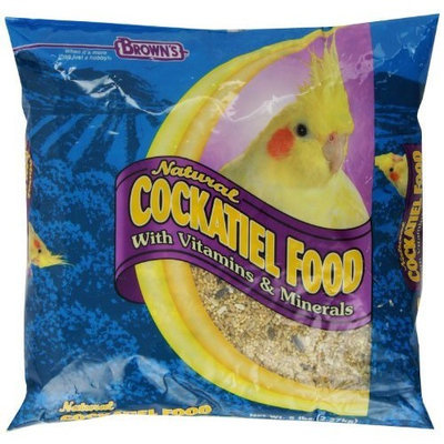 Fm Browns Sons Inc F.M. Brown's Natural Cockatiel Food, 5-Pound