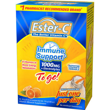Ester-C To Go! Vitamin Mineral Supplement
