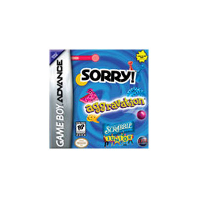 Jack of All Games Sorry/Aggravation/Scrabble Jr Compilation