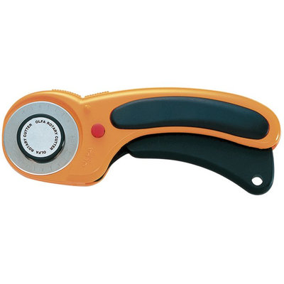 Olfa Deluxe Rotary Cutter 45mm - OLFA CORPORATION