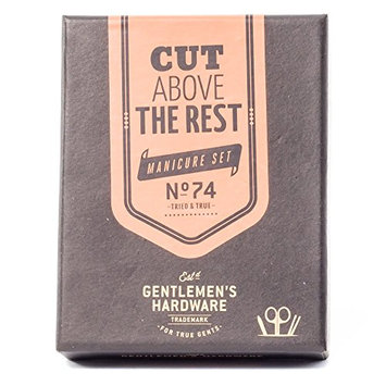 Wild and Wolf Gentlemen's Hardware Manicure Kit Charcoal
