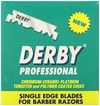 Derby Professional Single Edge Razor Blades