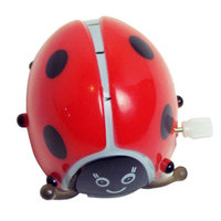 Sassafras Clip-Itty-Doo-Dahs Wind Up Somersaulting Ladybug Display (Set of 24)