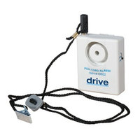 Drive Medical Deluxe Pin Style Pull Cord Alarm, 1 ea