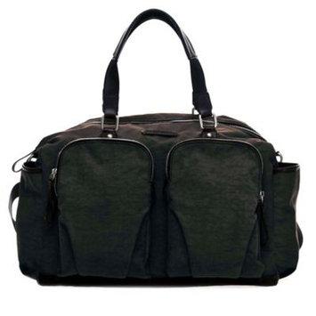 TWELVElittle Unisex Courage Satchel Diaper bag in Black