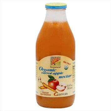 Bionaturae Fruit Nectar Organic Carrt Ap 25. 4 Oz -Pack of 6