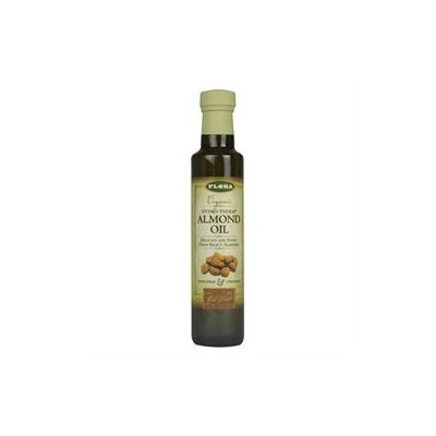 Flora - Organic Hydro-Therm Almond Oil - 8.5 oz.