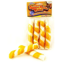 Beefeaters Wrapped Rawhide Twist Dog Treat, 5