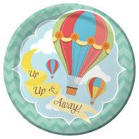 Up Up And Away Dessert Plate Pkg/8