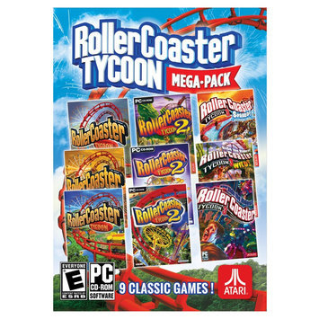 Ui Entertainment Rollercoaster Tycoon: Mega Pack PC Games [PCG]