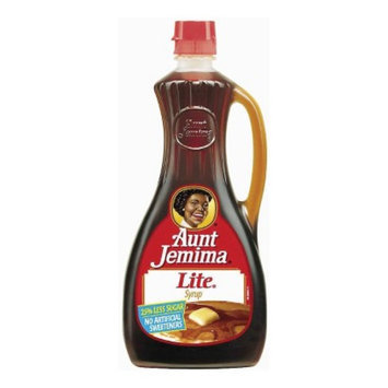 Quaker Aunt Jemima Lite Maple-Flavored Syrup 24-oz.