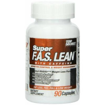 Top Secret Nutrition Super F.A.S. Lean Diet Supplement, 90 Count
