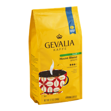 Gevalia Kaffe Decaf House Blend Ground Coffee Medium/Dark