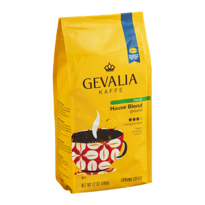 Gevalia Kaffe Decaf House Blend Ground Coffee Medium/Dark