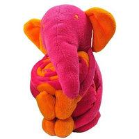 Elegant Baby Blanket/Toy-Elephant