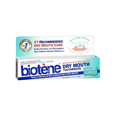 Biotene Dry Mouth Toothpaste with Bio-Active Enzyme Protection