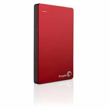 Seagate Backup Plus 1TB Slim Portable External Hard Drive, Red