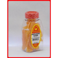 Marshalls Creek Spices DRIED CANTALOUPE SLICES, PACKED IN LARGE JARS, spices, herbs, seasonings
