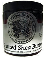 Black Canyon Scented Shea Body Butter 8 Oz (Coconut Ginger Almond)