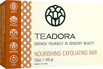 Teadora Rainforest At Dawn Exfoliating Bar