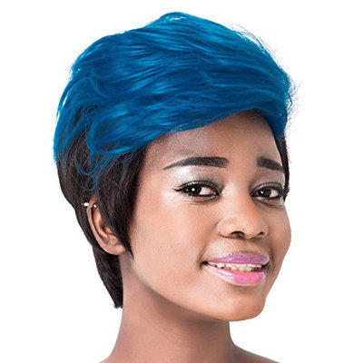 Probeauty Stylish Short Synthetic Natural Wave Women's Bump Wig
