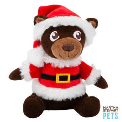 Martha Stewart PetsA Mr. Bear Holiday Dog Toy