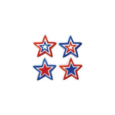Dec Ons Lucks 48134 Dec-Ons Large Patriotic Stars - 120 / BX