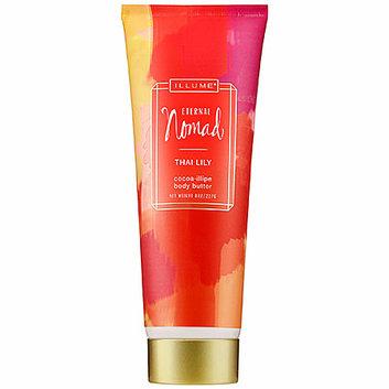Illume Eternal Nomad Cocoa-Illipe Body Butter Thai Lily 8 oz