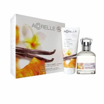 Acorelle Perfume Gift Set, Amber Vanilla, 1 set