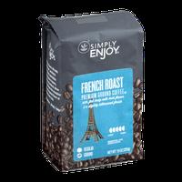 Simply Enjoy Premium Ground Coffee French Roast