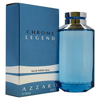Chrome Legend By Loris Azzaro For Men. Eau De Toilette Spray 4.2-Ounce Bottle