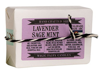 Magic Fairy Candles Sage Mint Goat Milk Soap
