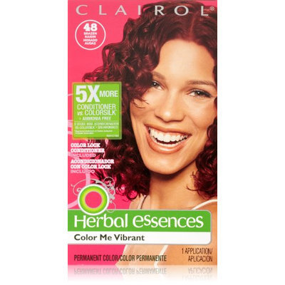 Herbal Essences Color Me Vibrant Permanent Hair Color 048 Brazen Raisin 1 Kit